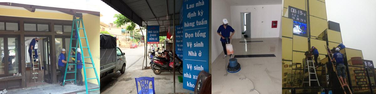Dịch vụ vệ sinh công nghiệp tại Quảng Ninh