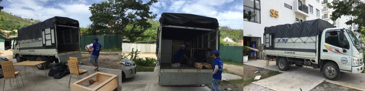 Thuê xe tải chuyển nhà tại Hạ Long