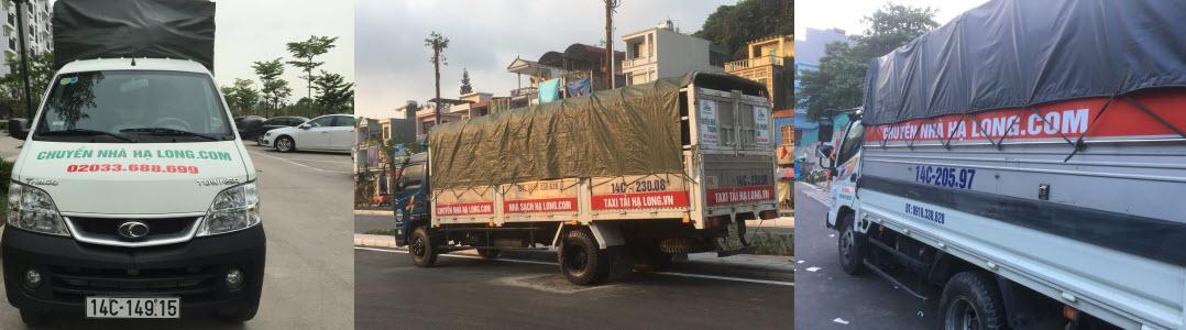 Cho thuê xe tải tại Quảng Ninh